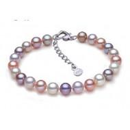 Freshwater Pearl Bracelet 7.5-8.0mm Metallic AAA Quality