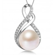 Freshwater Pearl Pendant  9-11mm -River