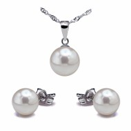 Akoya Pearl Set 6.0-9.0mm White AAA Quality