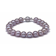 Freshwater Pearl Bracelet 8.5-9.0mm Lavender AAA Quality
