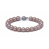 Freshwater Pearl Bracelet 8.5-9.0mm Pink AAA Quality