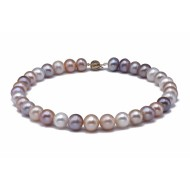 Freshwater Pearl Necklace 13-14.5mm Mixed Colour