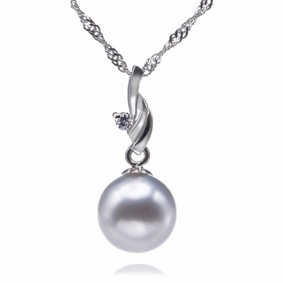 Freshwater Pearl Pendant 8-11mm White AAA-Transcendent  Dreams