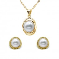 Freshwater Pearl Set 9-11mm Innocent