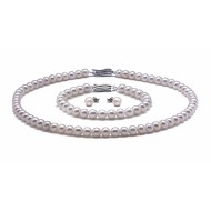 Freshwater Pearl Set 6.0-7.0mm White AA+/AAA Quality