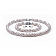 Freshwater Pearl Set 7.5-8.5mm AA+/AAA Quality