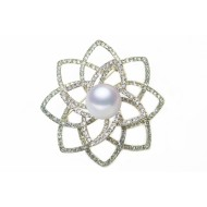 Freshwater Pearl Brooch 11-12mm AAA Quality