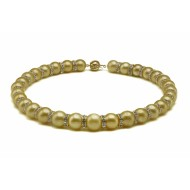 South Sea Pearl Necklace 11-13mm DarkGoldenAAA Decorating Stone
