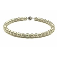 South Sea Pearl Necklace 9.0-11.0mm White AA+ Quality