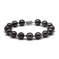 Tahitian Pearl Bracelet 10-11mm Black AA+ Quality