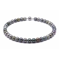 Tahitian Pearl Necklace 10.0-11.0mm Mixed Colour AA+ Quality