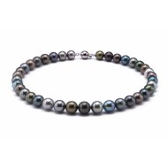 Tahitian Pearl Necklace 9.0-11.0mm Mixed Colour AAA Quality