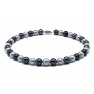 Tahitian and SouthSea Pearl Necklace 9.0-11.0mm AA+ Quality