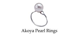 Akoya Pearls Rings