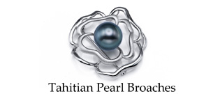 Tahitian Pearls Broaches