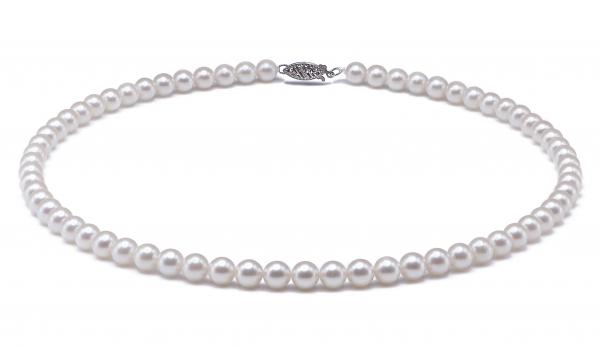 Akoya Pearl Necklace 7.0-7.5mm White AA+ Quality
