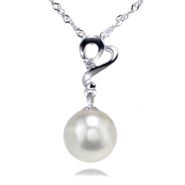 Akoya Pearl Pendant 7.0-9.0mm White AAA Quality-Enchantress