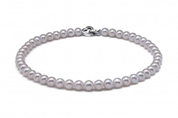 Freshwater Pearl Necklace 8.5-9.5mm white