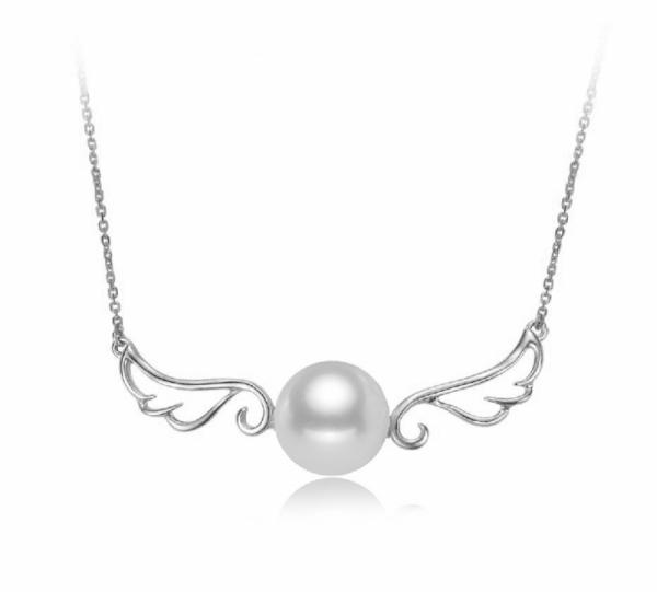 Freshwater Pearl Pendant 9.0-11.0mm-The wings of Angel