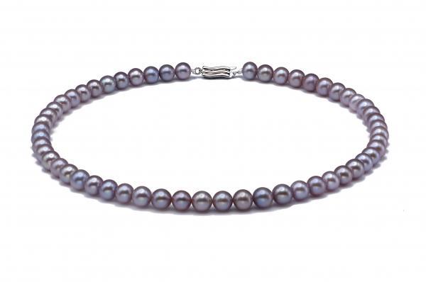 Freshwater Pearl Necklace 7.5-8.5mm Lavender AAA Quality