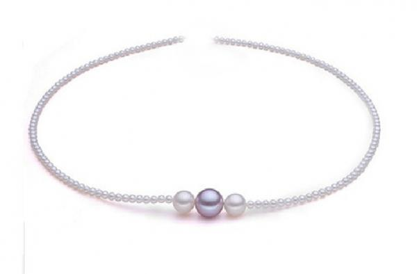 Freshwater Pearl Necklace 6.0-11.0mm White